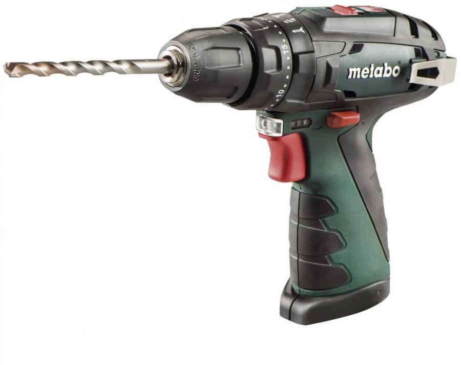 Löögiga akutrell PowerMaxx SB, ilma aku ja laadijata, Metabo