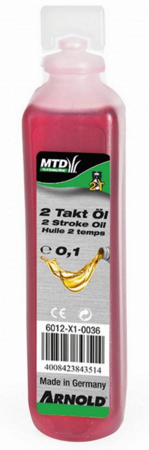 Alyva varikliui 2T, 100 ml, MTD PRODUCTS AG