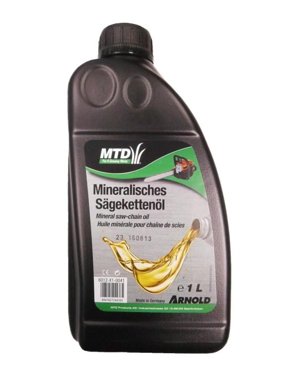 Alyva pjūklų grandinėms, mineralinė 1L, MTD PRODUCTS AG