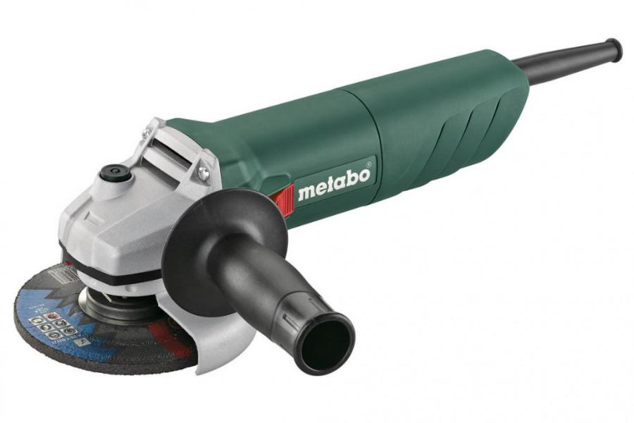 Kampinis šlifuoklis  W 750 125 mm, Metabo