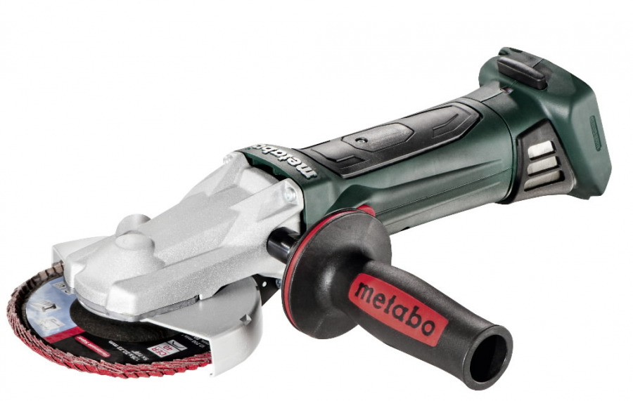 Cordless flat head grinder WF 18 LTX 125 Quick, wo battery/c, Metabo