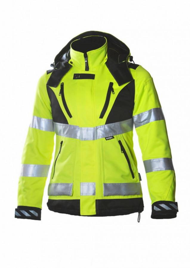 Žieminė  striukė, moteriška  6013,  geltona, Dimex