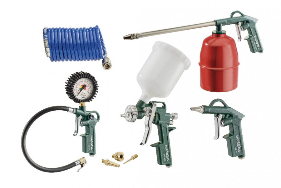 Compressed Air Tool Set LPZ 7 Set, Metabo