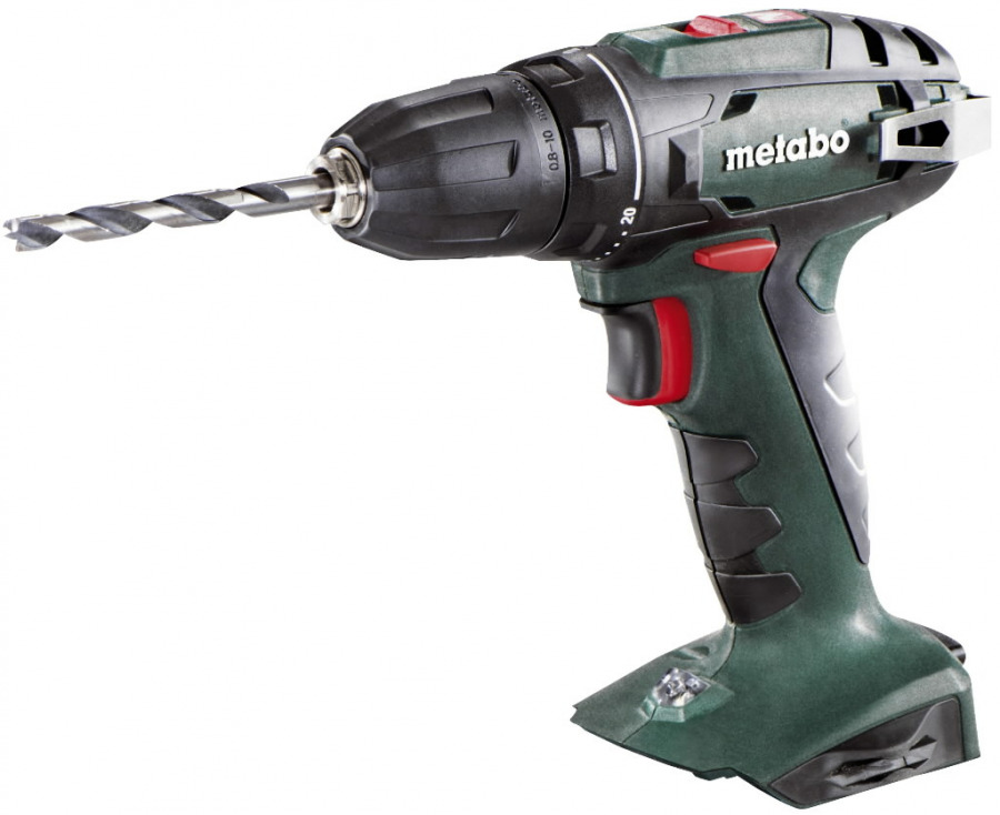 Cordless drill BS 18, 13mm, without battery/charger, Metabo