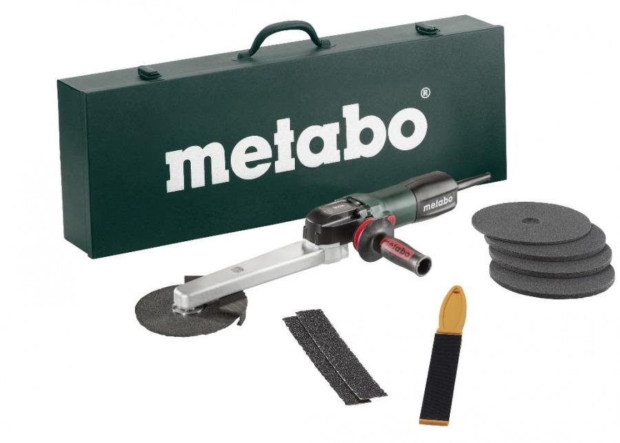 Leņķa slīpmašīna KNSE 12-150 komplekts, INOX, Metabo