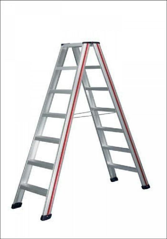 Step ladder, double-sided accessible 6024, Hymer