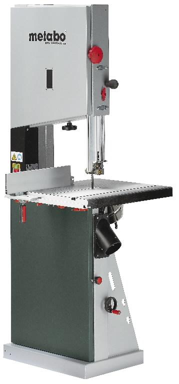 Juostinės pjovimo staklės BAS 505 Precision DNB 400V, Metabo
