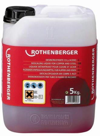 lubjakivi (katlakivi) eemaldamise kontsentraat 5kg ROCAL, Rothenberger