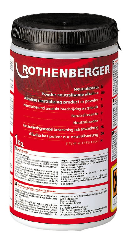neutraliseerimispulber 1kg, Rothenberger