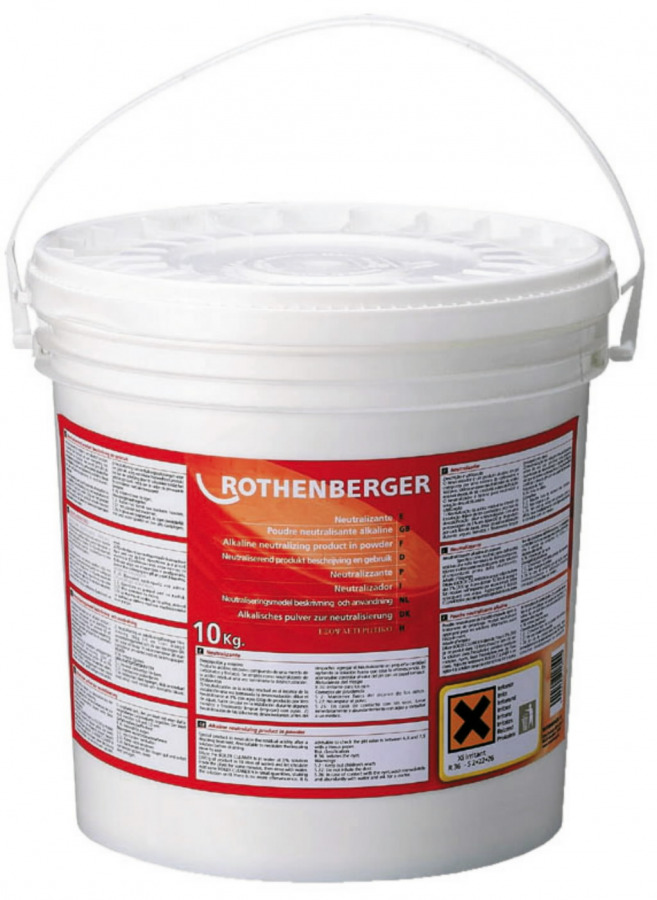 neutraliseerimispulber 10kg, Rothenberger