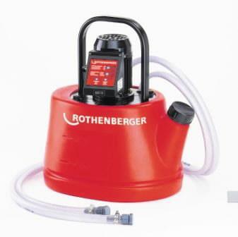 lubjasette eemaldamise pump ROMATIC 20 automaatne, Rothenberger