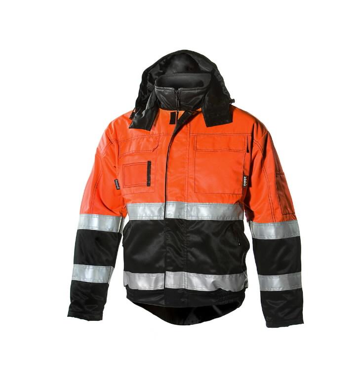 Žieminė striukė  6150 juoda/oranžinė XL, Dimex
