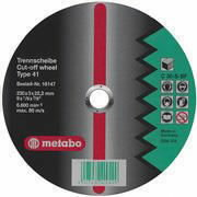 Diskas pjovimo metalui 230x3,0x22, Metabo