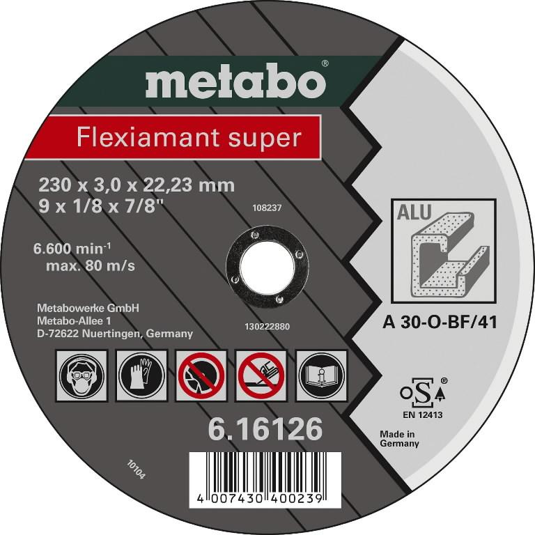 Diskas pjovimo aliuminiui 125mm, Metabo