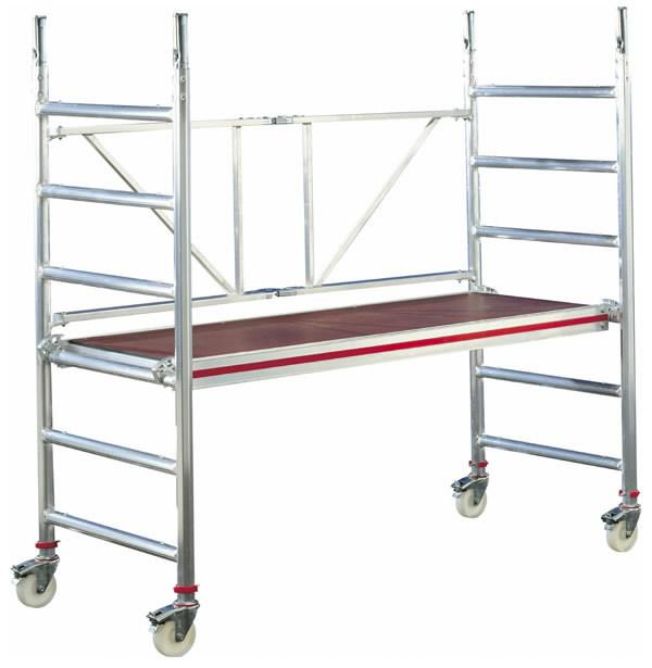 Pastoliai mobilūs, darbinis aukštis 2,8m, Hymer