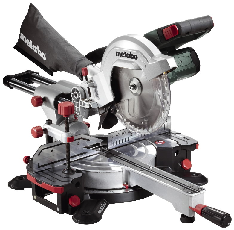 Cordless mitre saw KGS 18 LTX 216, w.o. battery and charger, Metabo
