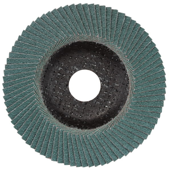 Lapelinis šlifavimo diskas 125 mm, P60, Novoflex, N-ZK, METABO