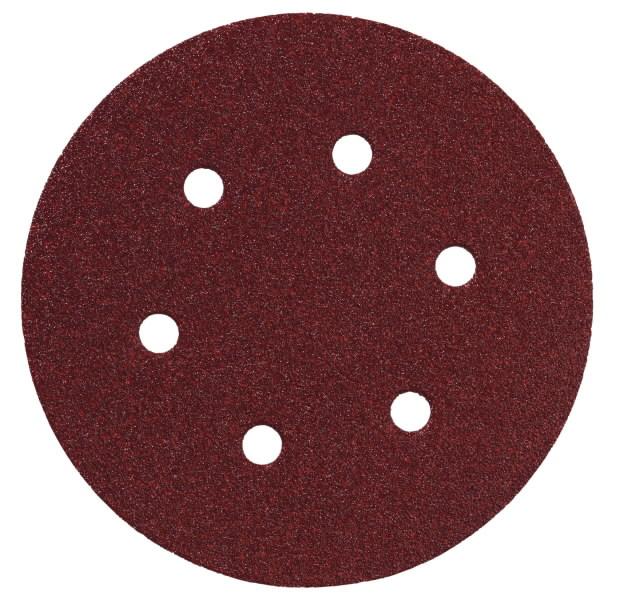 Sanding sheets P120 / 150mm / SXE450 - 5pcs, Metabo