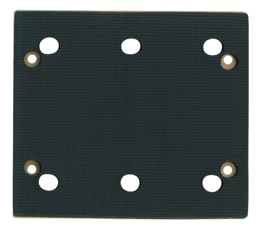 Perforated velcro-faced base-plate, Metabo