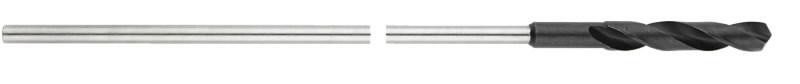 HSS prailgintas grąžtas 12x400 mm, DIN 7490, Metabo