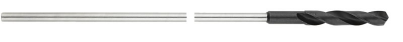 Saalungipuur HSS 12x400 mm, DIN 7490, Metabo