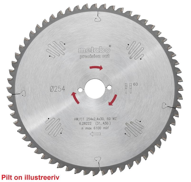 Diskas pjovimo 160x2,2/1,4x20, z24, WZ, 20°. Precision Cut. KS 55, Metabo