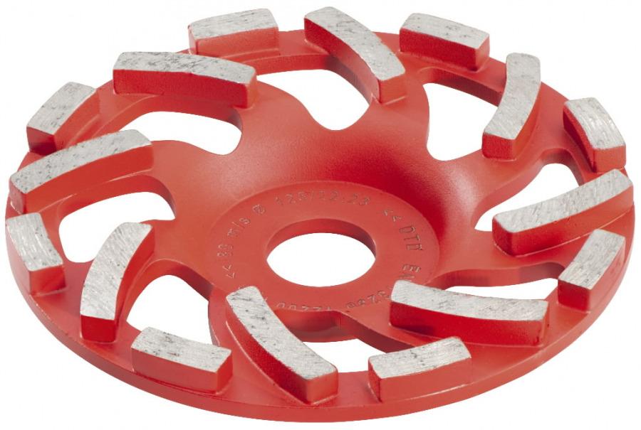 Betono šlifavimo lėkštelė 125 mm. RS 14-125 / 17-125, Metabo
