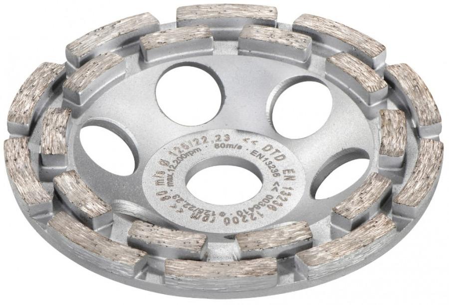 Betono šlifavimo deimantinė lėkštelė 125 mm. RS 14-125  / 17  / 17-125, Metabo