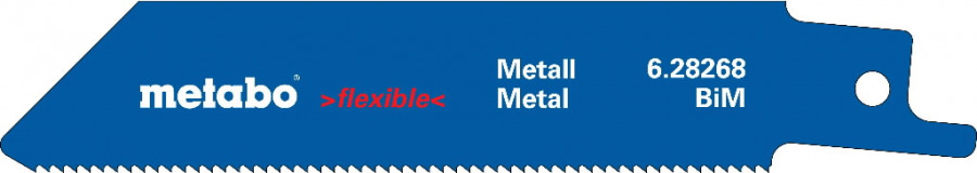 Otssaetera metallile 0,9x100 mm, BiM - 5tk. Professional, Metabo