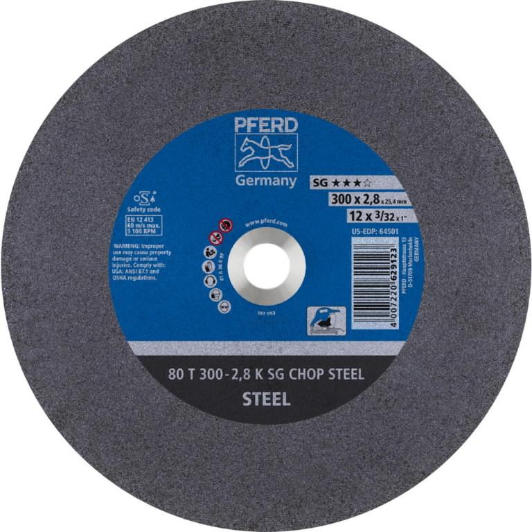 Diskas 80T 300-2,8 A36K SG-CHOP  25,4, Pferd