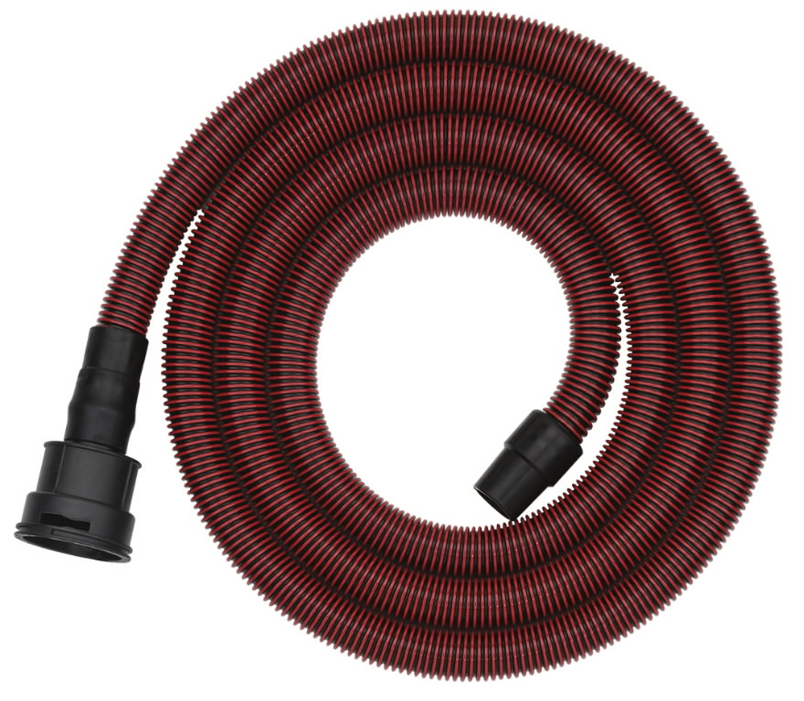 Suction hose 3,5m x 27 mm. Antistatic, Metabo