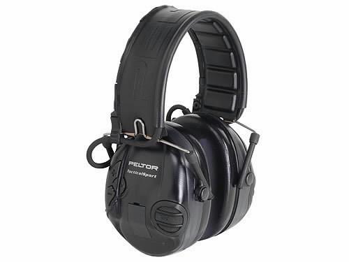 Kõrvaklapid Sporttac ''shooting'' (must/punan) aktiiv. MT16H210F-478-R, 3M