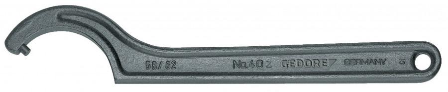 40 Z 34-36 mm raktas kablys su smaigu, Gedore