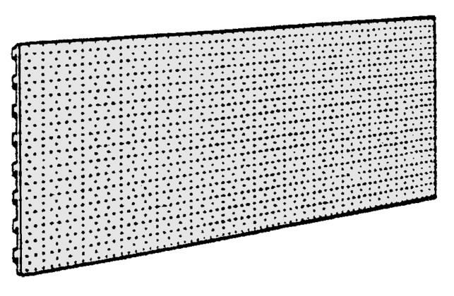 Plokštė perforuota 100 x 40, Metabo
