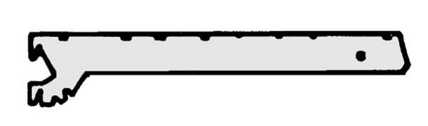 Lentynos tvirtinimas 37 cm. 2 vnt., Metabo