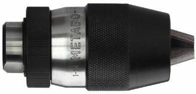 võtmeta padrun 3-16 mm, koonusega B 18, Metabo