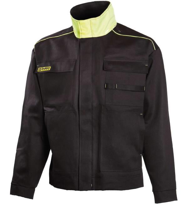 Suvirintojo švarkas  644 juodas/geltonas, Dimex
