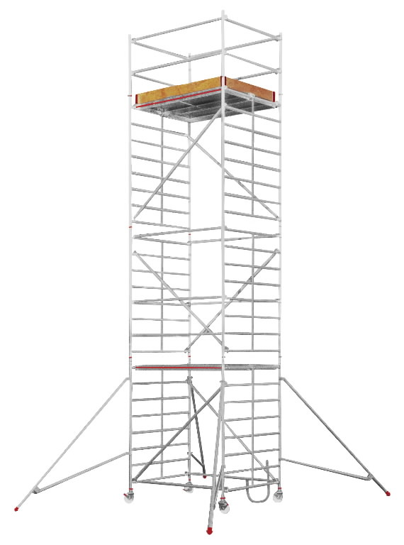 Pastoliai  SC60, darbinis aukštis 7,25 m 6473, Hymer