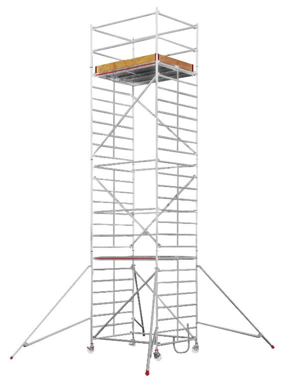 Pastoliai SC60, darbinis aukštis 10,25 m 6473, Hymer