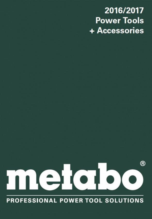 katalogas 2016/2017 anglų kalba, Metabo