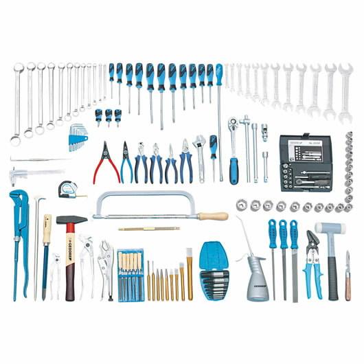S 1008 M įrankių kompl. 138 vnt., Gedore