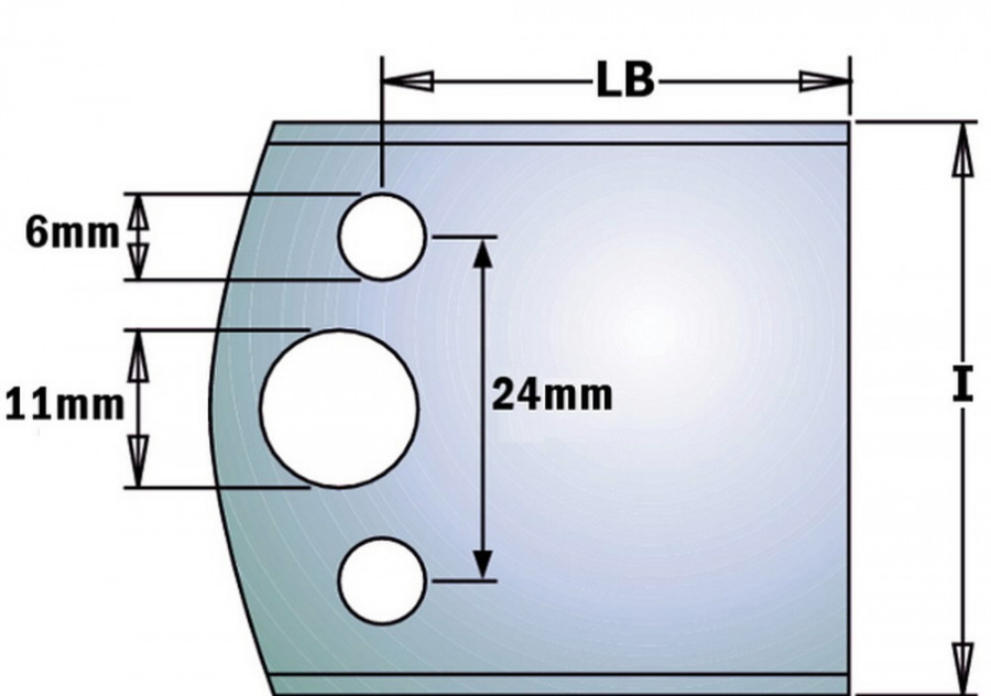 Profiiltera blankett b=40mm, CMT