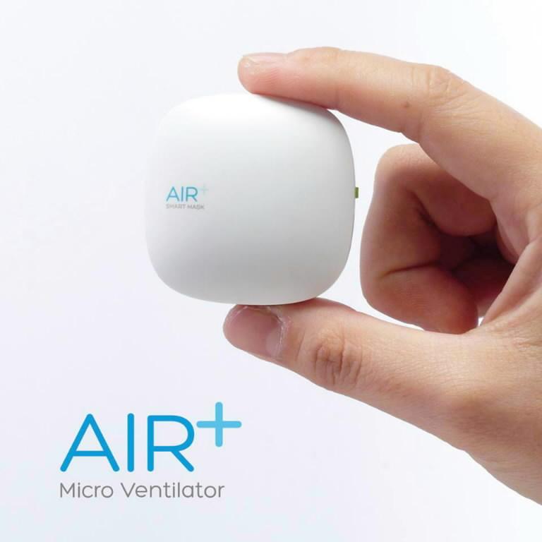 Air+ Mikro ventiliatorius, Paftec
