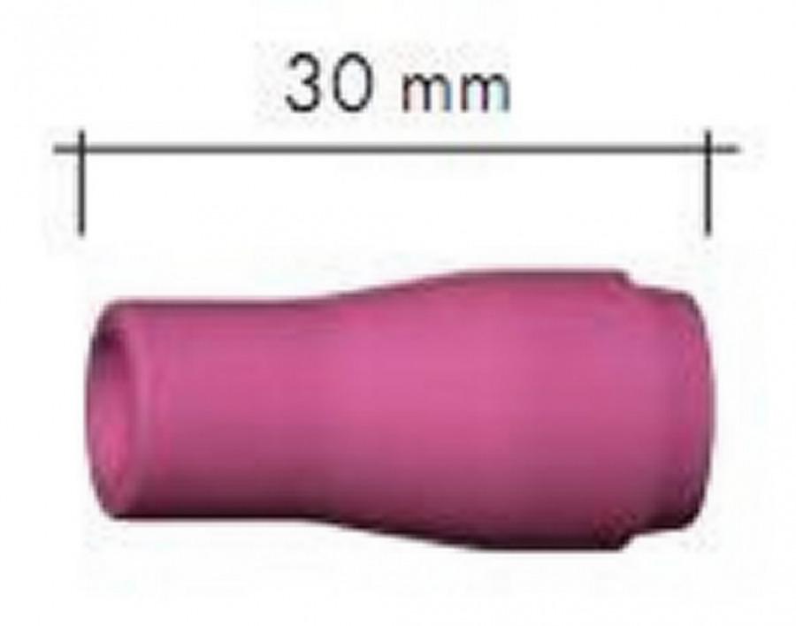 Keraamiline gaasidüüs Nr.5, d=8mm l=30mm, AbiTig 9/20, Binzel
