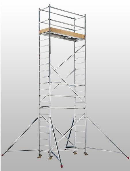 Pastoliai mobilūs, aliuminis 7074/05, Hymer