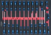 Atsuktuvų komplektas 24-vnt  ERGO+, KS tools