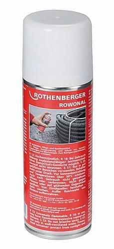 Tepalas spiralių valymui/sutepimui ROWONAL, 200 ml, Rothenberger
