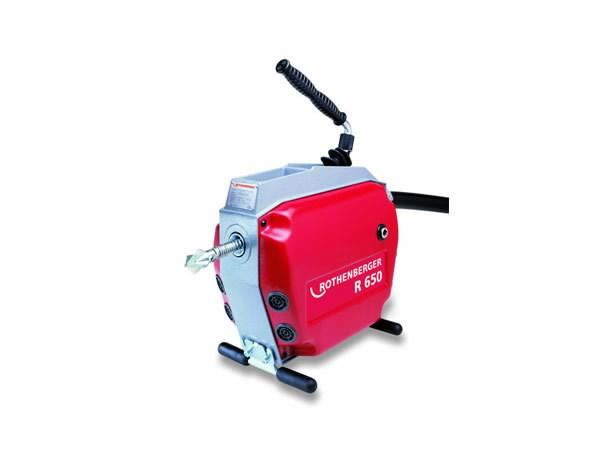 Vamzdžių ir kanalų valymo įrenginys R650, su 11 priedų, Rothenberger
