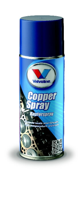 Vasemääre COPPER SPRAY 400ml, Valvoline