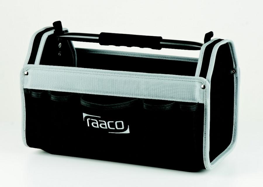 """Tööriistakast riidest ToolBag  20"""", fiks. sangaga, Raaco"""